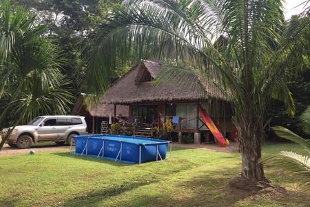 Rustic Cabin - Tambopata Natural Reserve