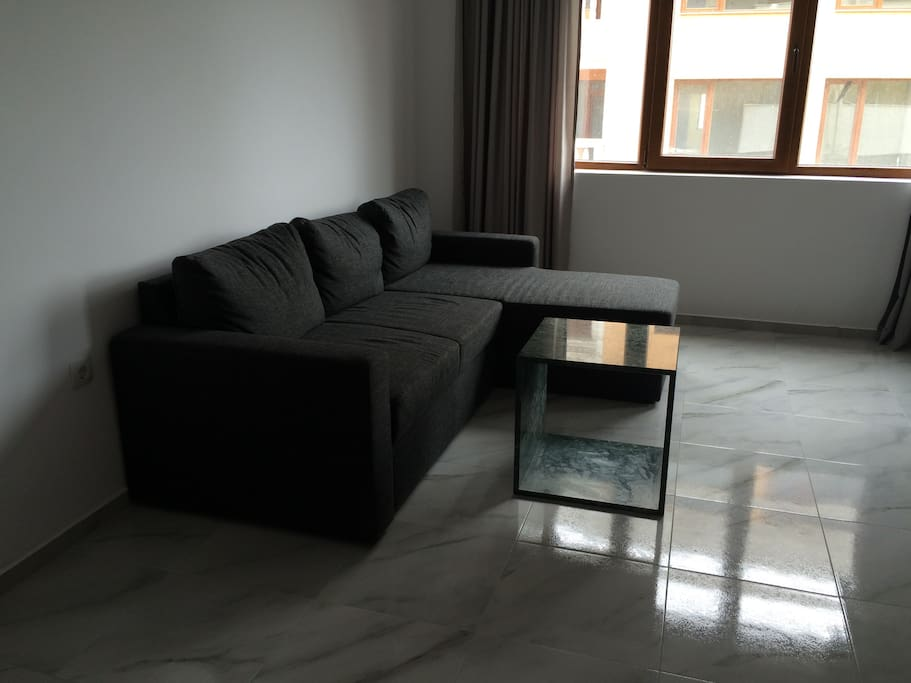 Sofa bed and living room