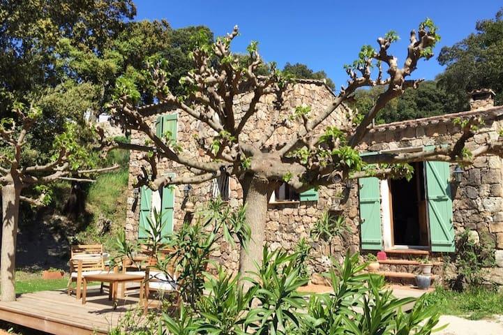Sartène - Chambre privative à la campagne.