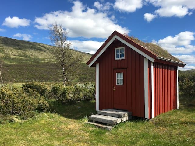 Tiny exotic cottage in Forollhogna National Park