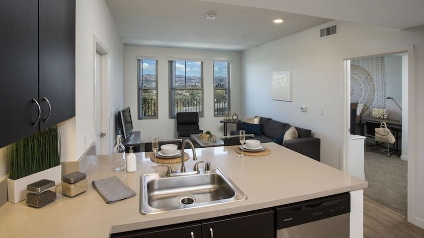 Two Bedroom Condo, washer & dryer included