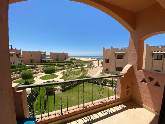 Sea view 2 bedrooms chalet in La Hacienda Ras Sudr