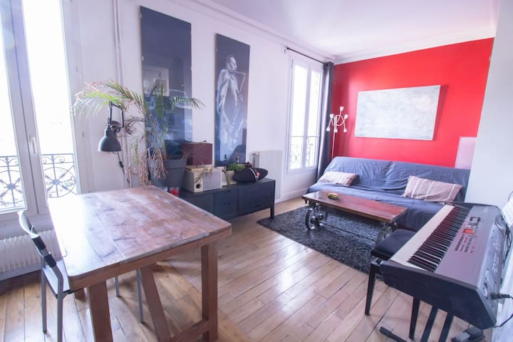 CHARMING STUDIO AT THE FOOT OF GARE DE LYON FOR 1 OR 2 PERSONS