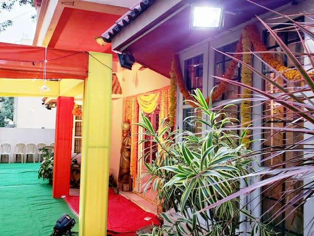 Service Apartment, wedding space, Fiesta Villa