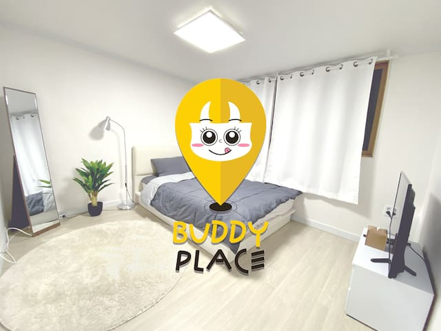 ■ Buddy Place [2 private room, 1 living room]