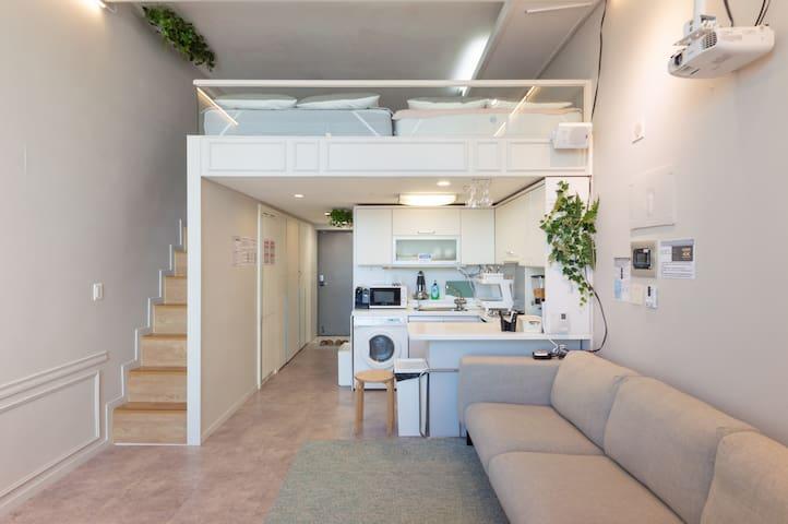 NEW!! cozy and scandinavian dulplex with comfort