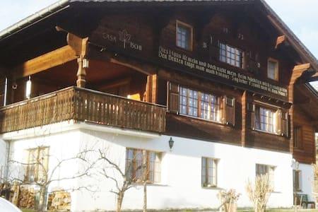 Sunny flat in Waltensburg/Vuorz - Waltensburg - Lägenhet