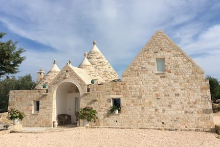 Trullo Marinella  at 500m from city