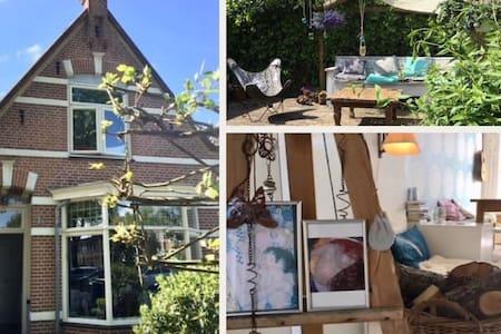 Lovely house Alkmaar near centre and beach