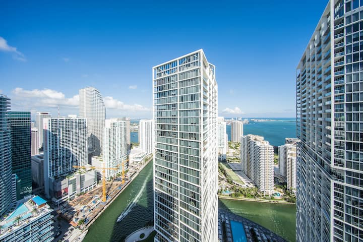 ♡ LUXURY 5 Stars ICON-BRICKELL CONDO, SPA/GYM/POOL