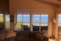 Second Floor Living Room with Lanai and Ocean Views