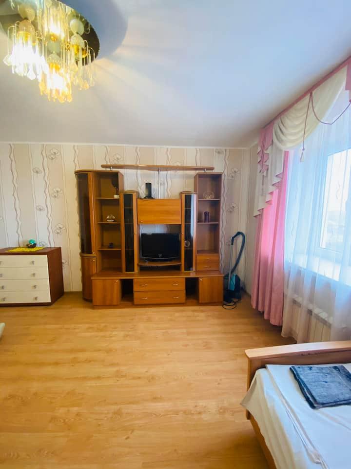 Просторная квартира рядом ТЦ ГРИНН