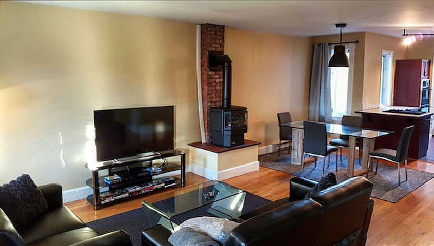 Spacious 2 bedroom apartment downtown Ottawa.