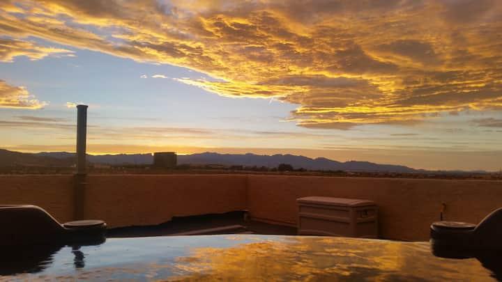1 Acre Desert Property- Strip & Mountain View