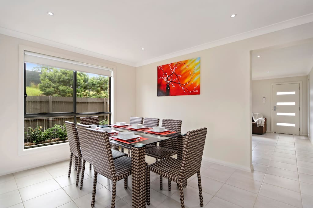 Open plan, Living/Dining Area