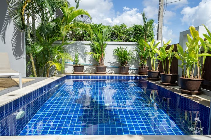 3-bedroom villa with private pool