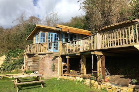 Chestnut Cabin, Rustic stay with stunning views - Gloucestershire - กระท่อม