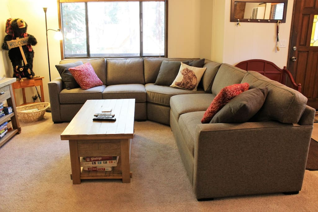 Brand New Sectional Sofa with Full Sleeper