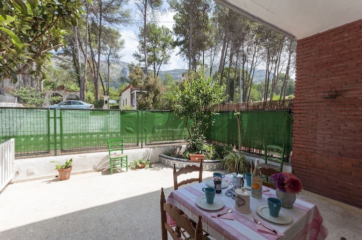 PARPALLO - Apartment for 9 people in La Drova .
