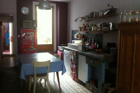 Appartement atypique avec jardin, 1 chambre - 南特 - 公寓