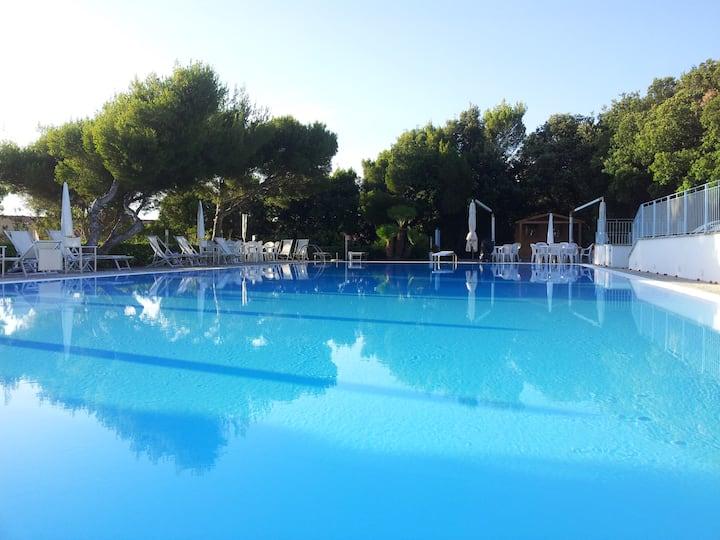 Casa vista mare con piscina a Castiglioncello