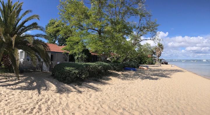 Confortable maison de pêcheur sur la plage