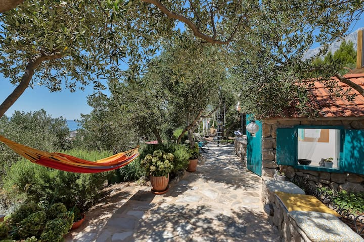 Tiny house w/pool Fjaka-getaway in the olive trees