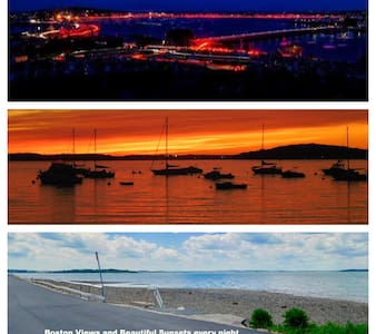 Magnificent Panoramic Views of Sunset on the Bay !