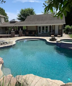 Poolside Paradise in Monrovia, Maryland.