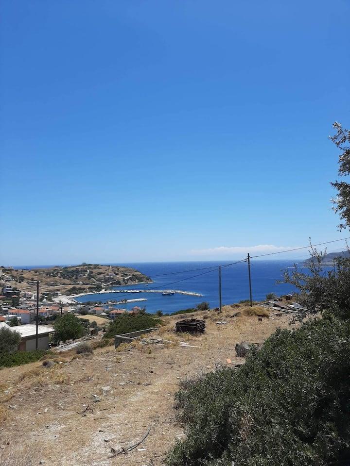 Agioi Apostoloi Kanistras - Sea View Apartment