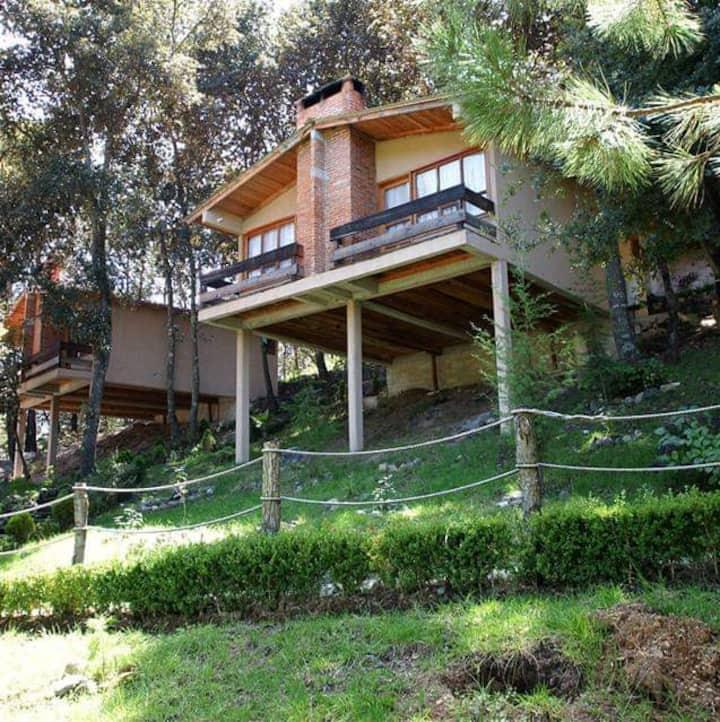 Cabaña-Habitacion-2P-Los Bosques del Zembo-Huasca