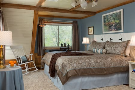 The Ouachita - king bed with en suite bath