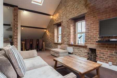 The Penthouse - Clarence House - Matlock Bath - Wohnung