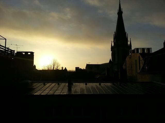 Chambre privée plein centre de Metz