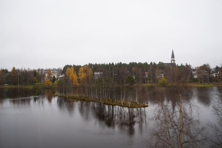 Two bedroom apartment with a beautiful view - Rovaniemi - Apartment