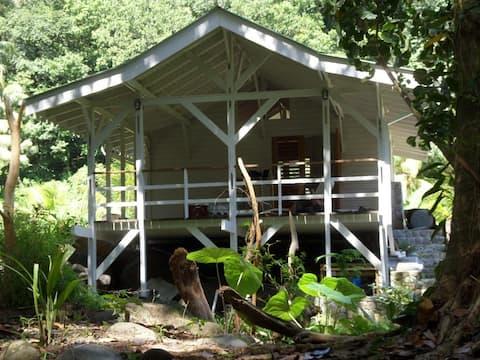 Guava Cherry Riverside cottage at Citrus Creek Plantation
