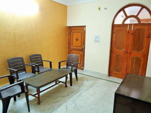 the living room (common area)