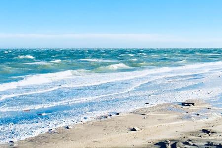 Rocky Point, NY near beach.