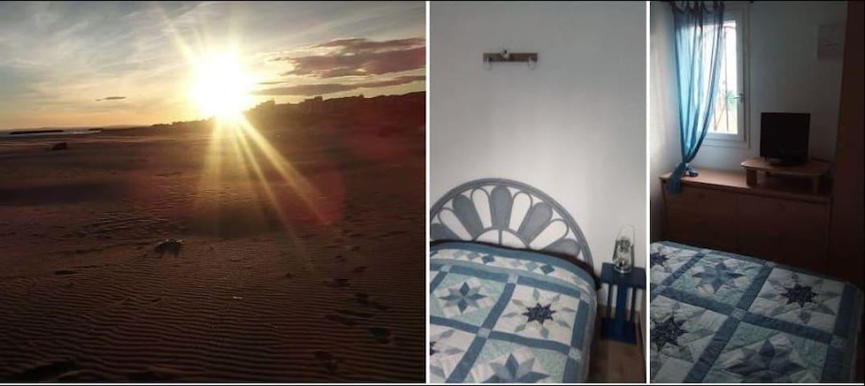 CAP D'AGDE loue joli appart. meublé à 150 m plage