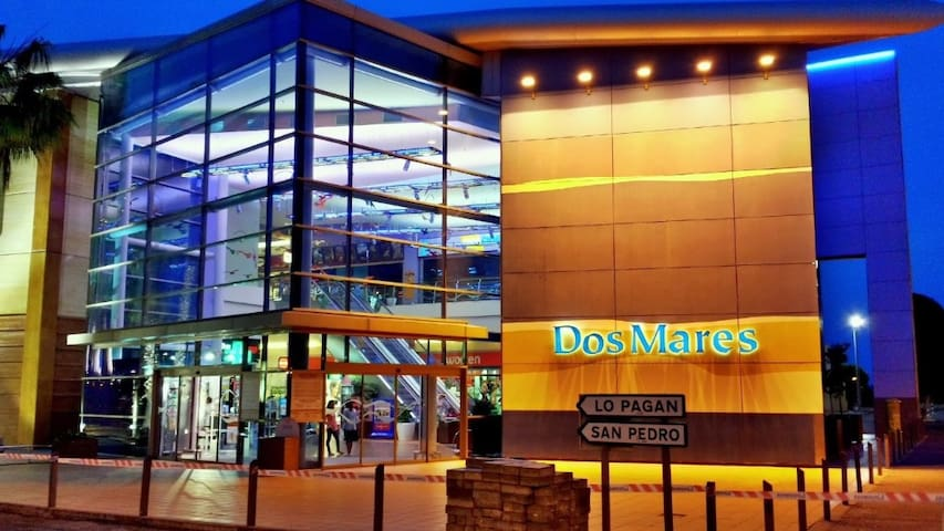 Dos Mares - the shopping center with the cimena