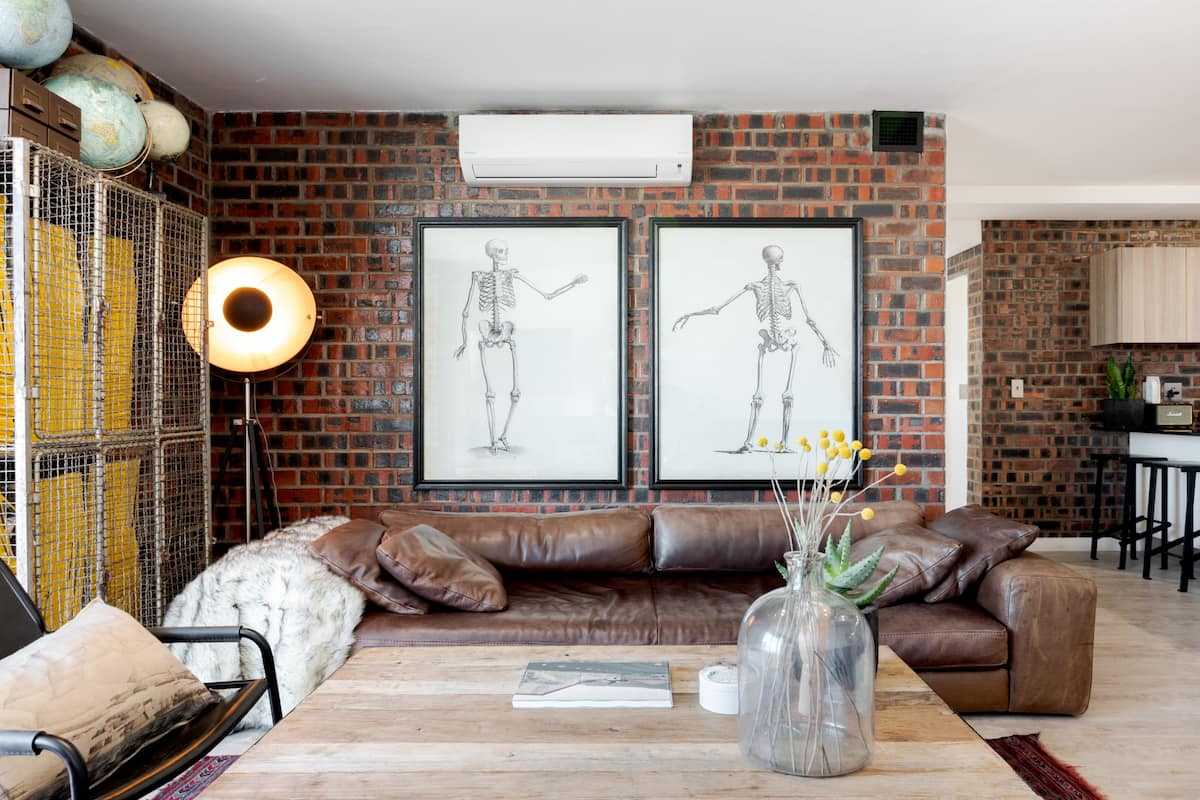 Industrial-Chic Apartment, Just Perfect for Self-isolation