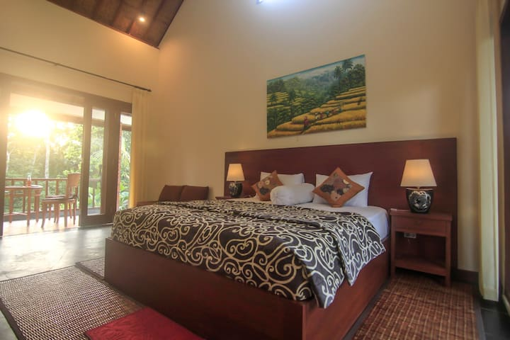 Mandara House#Ubud Countryside House# - Tegallalang - 平房