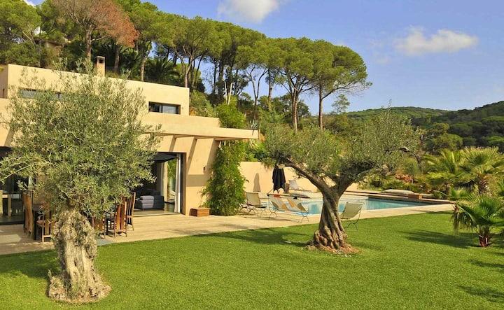 Splendide villa près du Lac Majeur, avec piscine
