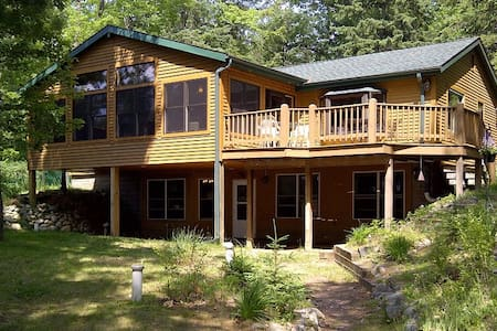 Beautiful Lake View House Minutes from Rhinelander - Rhinelander - Maison