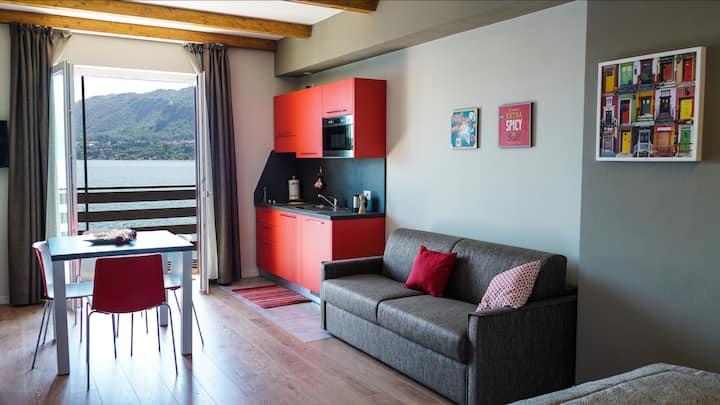 "Cascina Tumas Orta Lake: appartamento ""Alpiolo"""