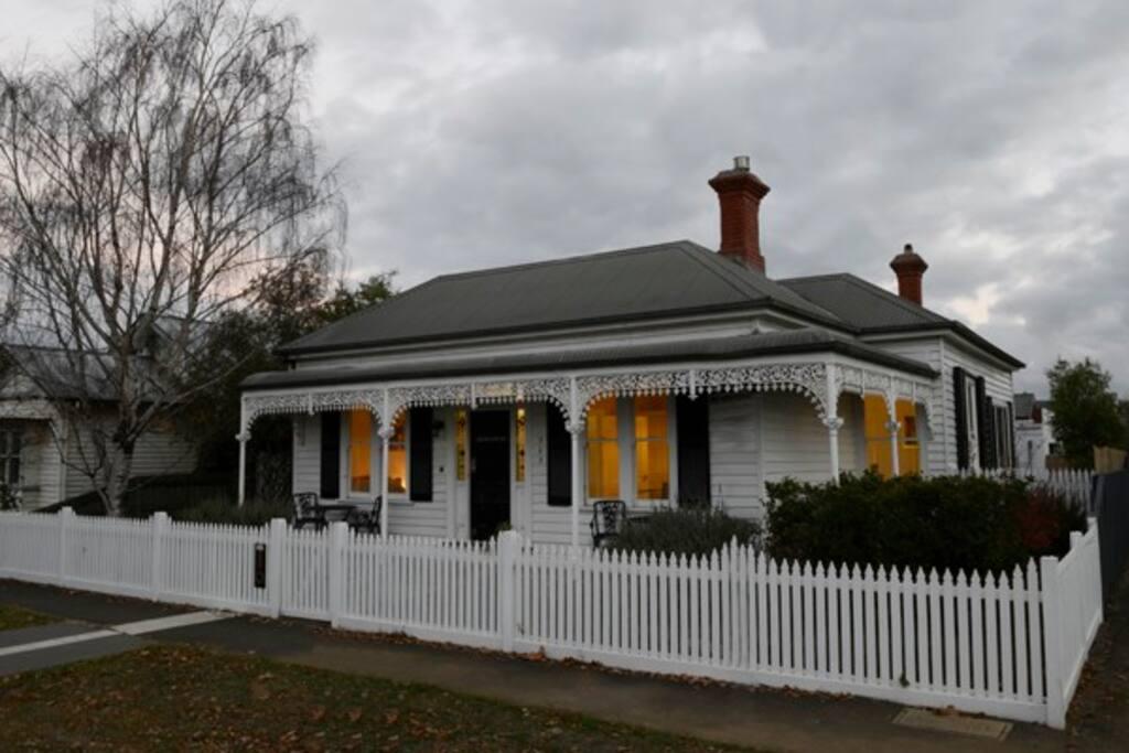 A lovely Victorian facade