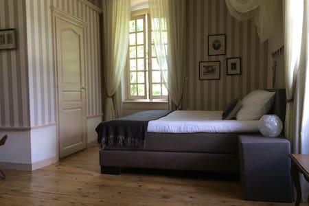 Chambre du Général - ruime lichte kamer - Dore-l'Église - Гестхаус