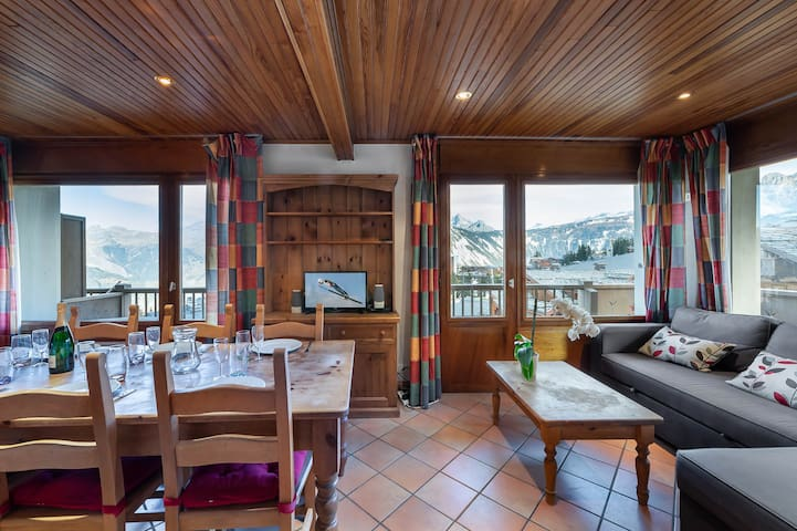 Foret du Praz 417 : True Alpine apartment close to the slopes