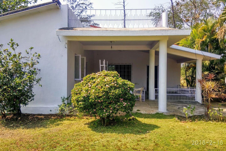 Our bungalow at Shanti Van