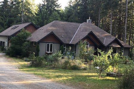 VANCOUVER ISLAND / SHAWNIGAN LAKE/COWINCHAN VALLEY - Shawnigan Lake - Ház
